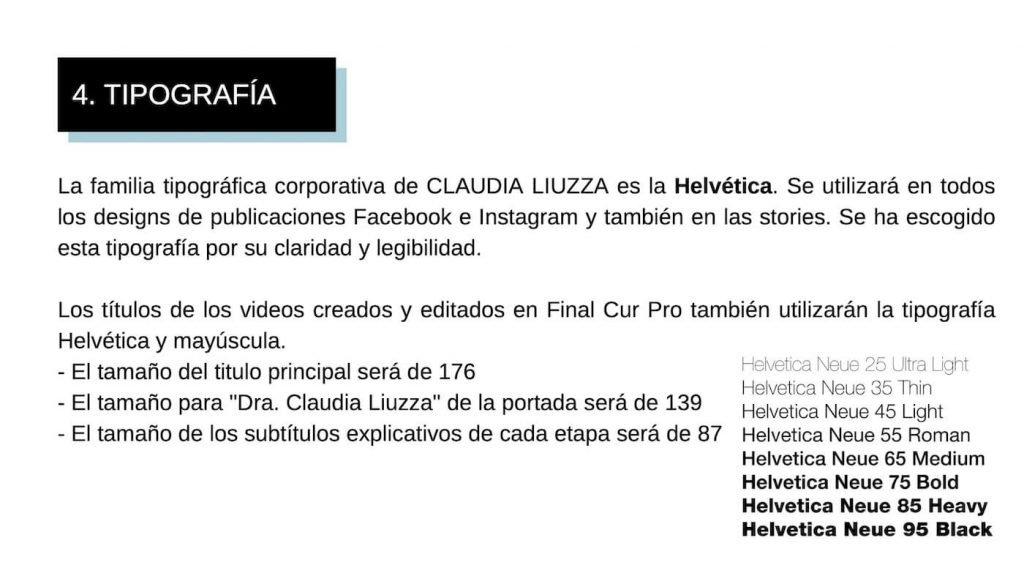 MANUAL DE MARCA Claudia Liuzza 7