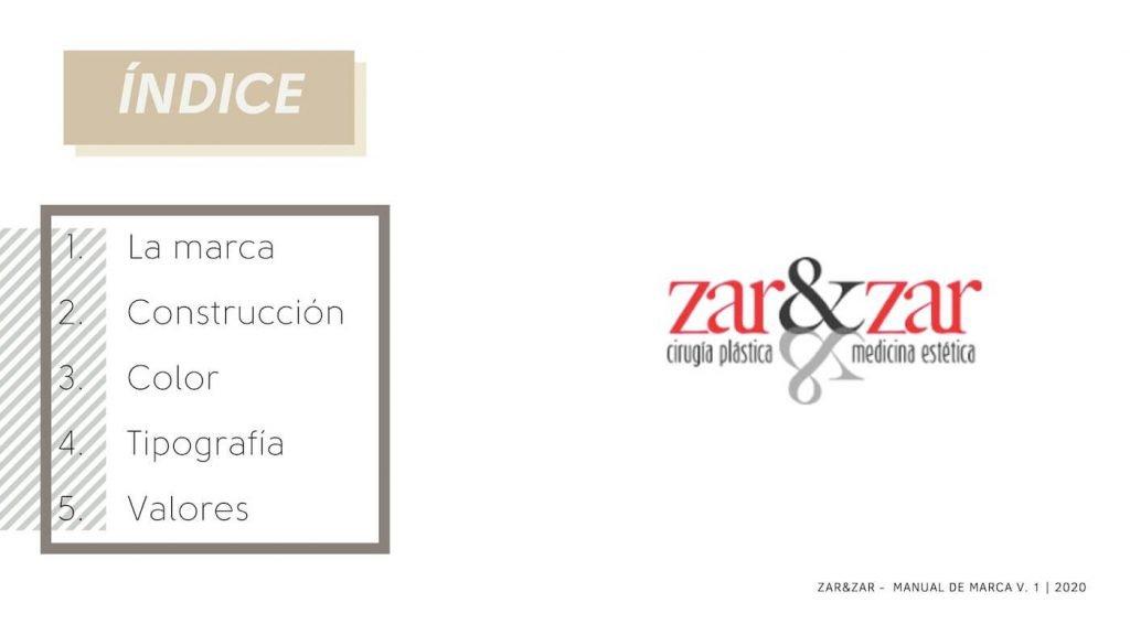 ZAR&ZAR- MANUAL DE MARCA 2