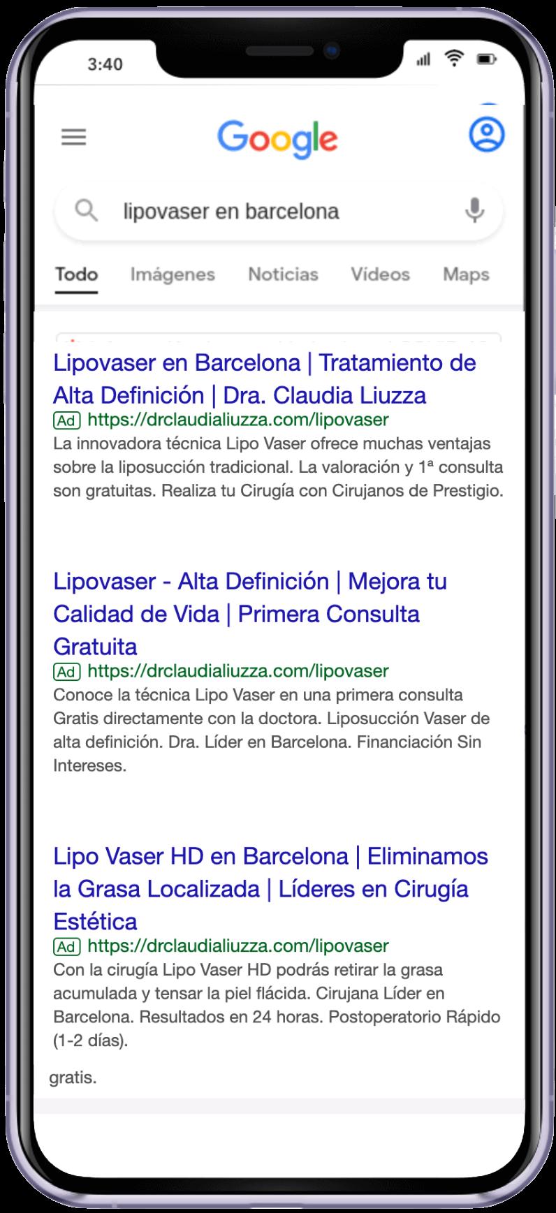 g ad CL lipovaser